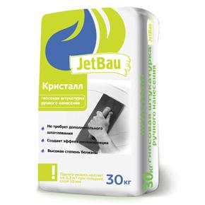 """Гипсовая штукатурка белая ручного нанесения """"JetBau"""" , 30 кг"""